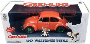 Chase 1967 VOLKSWAGEN BEETLE & GIZMO FIGURE GREMLINS MOVIE 1/24 GREENLIGHT 18231