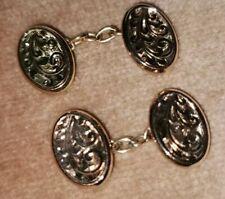 Antique 9ct Gold cufflinks - Hallmarked Birmingham 1819