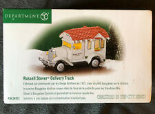 Dept 56 Russell Stover Delivery Truck | # 58972 Snow Christmas in the City Vtg