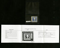 US Stamps # 115 F-VF Fresh and clean w/certification OG LH Scott Value $2,500.00