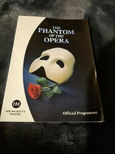 The Phantom Of The Opera Official Programme