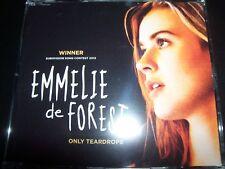 Emmelie de Forest – Only Teardrops (Eurovision) CD Single – New (Not Sealed)