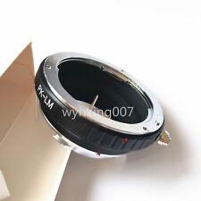 Pentax k PK Lens To Leica M LM Adapter M3 M4 M5 M6 M7 M8 M9 MP M9-P LM-EA7