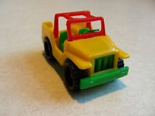 BRUDER MINI vintage toy JEEP Made in Germany SNAP TOGETHER antique NEW rare!