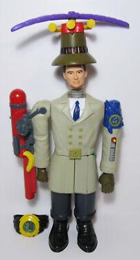 1999 Disney Inspector Gadget McDonalds Happy Meal Toy Complete Set