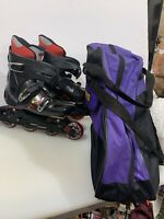 Technica POWERSTROKE Inline Skates Roller Blades - Mens 7.5 , Womens 9 ..w/ Bag