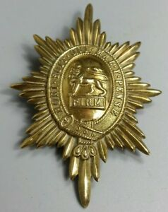 Post WW2 British Army WorcesterShire Regiment Valise Star Badge 1952-1970