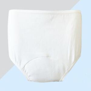 Waschbar Inkontinenz-Slip Unterwäsche Windelhose für Damen und Herren