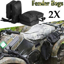 2x Universal Waterproof Cargo Storage Hunting Fender Side Bags ATV UTV