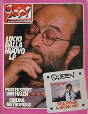 CIAO 2001 39 1984 Lucio Dalla Van Halen Queen Talk Talk Kid Creole Randy Newman