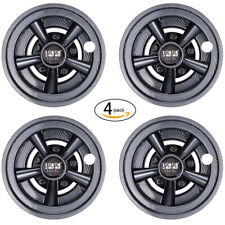 "(4) Golf Cart Wheel Cover Hub Caps 8"" for Yamaha/Club CAR/EZGO Carbon Fibe AU"