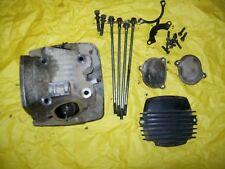 1991 Yamaha YFM 250 Moto 4 2x4 engine cylinder head with rockers valves covers