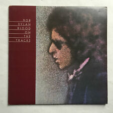 BOB DYLAN - BLOOD ON THE TRACKS * LP VINYL * FREE P&P UK CBS 69097 * A2 PRESS *