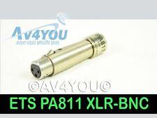 ETS PA811 B905 Digital Audio Impedance Transformer Balun XLR Female - BNC-F