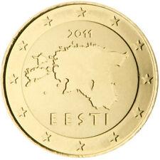 Monnaie 10 centimes cent cts euro Estonie 2011, neuves du rouleau, UNC
