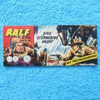 """RALF Nr 28 Der Sheriff """"EINE STÜRMISCHE NACHT"""" Piccolo Lehning 1961 Z1-"""