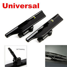 2Pcs Car Windshield Wiper Blade Spoiler Mate Wing Car Accessories 13.6*2.8*2.5cm