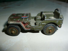 voiture miniature - Jeep Dinky Toys - made in France Meccano - occasion