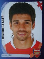Panini 42 Eduardo da Silva Arsenal FC UEFA CL 2007/08