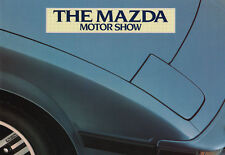 The Mazda Motor Show - 1982 Mazda Range Brochure - 323, 626, RX7, 929, B1800 Pic
