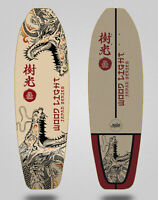 Wood light monopatin skate skateboard surfskate deck Japan series Dragons 31.5