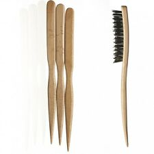 Kent PF14 PF15 PF16  Back Combing Separating Picking Natural Bristle Hair Brush