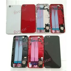 Battery Cover Case Housing Frame For iPhone 6 6P 6SP To iphone 8 8 Plus Assembly