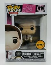 Funko Pop! Movies: Fight Club - Narrator Chase #919 Brand New + Pop Protector