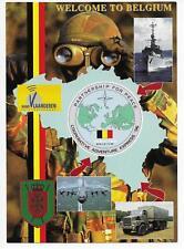 QSL Radio Vlaanderen International Brussels Belgium 1996 Partnership Peace DX