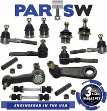 14pc Kit Front Tie Rod Ends Ball Joints Pitman Idler Expedition F-150 F-250 4WD
