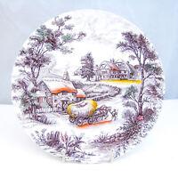 Staffordshire Inglaterra Porcelana Resistente Yorkshire 4405 Plato (S) Leer