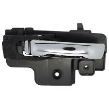Inside Door Handle - Front or Rear Left Driver - Chrome
