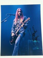 Blackberry smoke charlie starr signed 8x10 photo w/coa