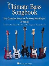 The Ultimate Bass Songbook: The Complete Resource for Every Bass Player! (Paperb
