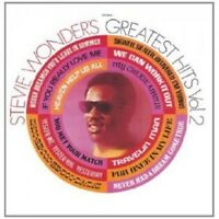 STEVIE WONDER - GREATEST HITS VOL.2  CD  12 TRACKS POP/SOUL/MOTOWN BEST OF  NEW+