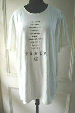 John Varvatos White Short Sleeves T-shirt Size XXL