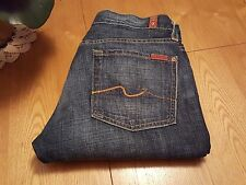 WOMENS SEVEN 7 FOR ALL MANKIND CLASSIC BOOTCUT JEANS 27 X 32 NWOT...VERY NICE!