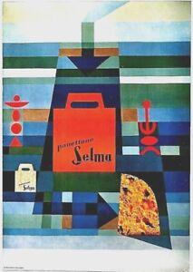 Original vintage poster SELMA ITALIAN PANETTONE BRED c.1970