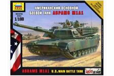 ZVEZDA 7405 1/100 U.S. Main Battle Tank Abrams A1M1