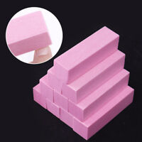 4 Pcs Sanding Sponge Nail Buffer Files Block Polishing Manicure Nail Art Tools