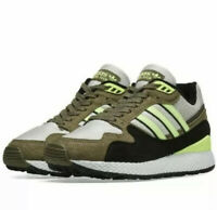 ADIDAS Men's Originals Ultra Tech Khaki Yellow Running Shoes BD7937 Size 10.5