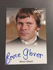 James Bond Classics Autograph Card Of Bruce Glover As Mr. Wint.