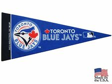 "New MLB Toronto Blue Jays Mini Pennant  9""x4"" Made in USA"