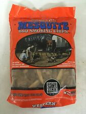 Western Mesquite Smoking Chips, 180 Cubic Inches, Free Shipping to Us48!