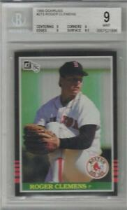 1985 Roger Clemens Donruss RC #273... Graded BGS 9 Mint