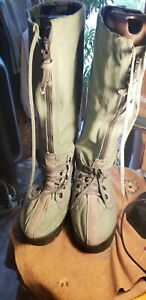 US Military UNIQUE Extreme Cold Weather Boots, N-1B, Small