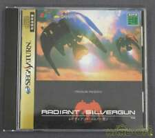Sega Saturn SS Radiant Silvergun Tested Working Mint++++ Good Condition