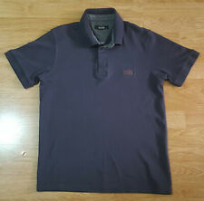 BOSS Hugo Boss Polo T Shirt Top Short Sleeves Ladies Black Size L