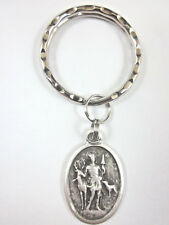 St Hubert Medal Italy Key Ring Gift Box & Prayer Card