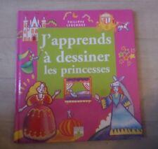 les princesses / J'APPRENDS A DESSINER / FLEURUS